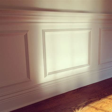 Wainscoting Molding by Happenins Design Manifest Faux Molding House Ideas