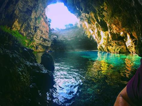 Most Breathtaking View Ever Picture Melissani Cave