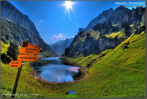 Alpstein - Switzerland - Fälensee - HDR