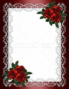 red wedding frames and borders wwwimgkidcom the With wedding invitations borders red