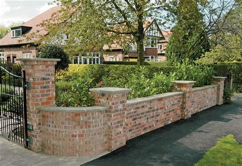 Garden Decorative Bricks by Superb Garden Wall 3 Decorative Brick Garden Walls