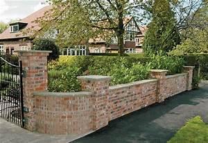 superb garden wall 3 decorative brick garden walls With front garden brick wall designs