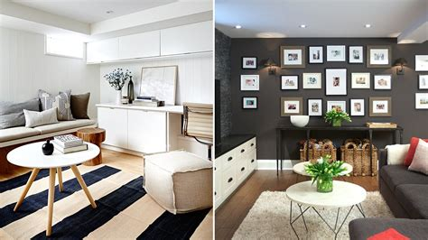 interior design bright beautiful basement design ideas