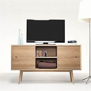 Classic Mobile da soggiorno in legno, con ante scorrevoli, mensole e cassetti, diverse misure