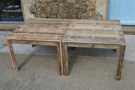 table de cuisine en bois beautiful table de jardin bois plan pictures awesome