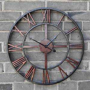 les 25 meilleures idees de la categorie horloge murale With delightful idee couleur pour salon 16 45 idees pour le plus cool horloge geante murale