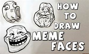 Ep. 111 How to draw Meme Faces - YouTube