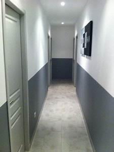 deco couloir gris et blanc With couleur pour couloir sombre 6 10 deco couloir canons pour sinspirer deco cool