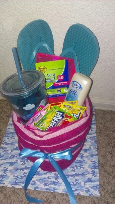 summer themed gift summer gift baskets bunco gifts