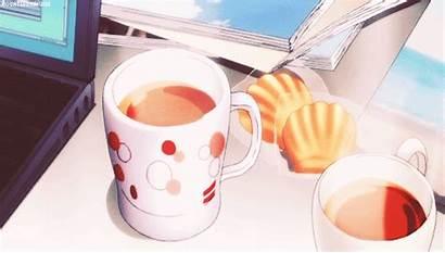 Anime Tea Animu Kawaii Gifs Coffee Bios