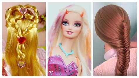 barbie doll hairstyles how to make barbie hairstyle