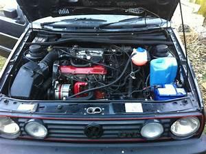 My Mk2 Golf 8v Engine