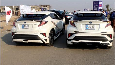 Toyota Chr Hybrid Modification toyota chr hybrid modified pakwheels multan auto show