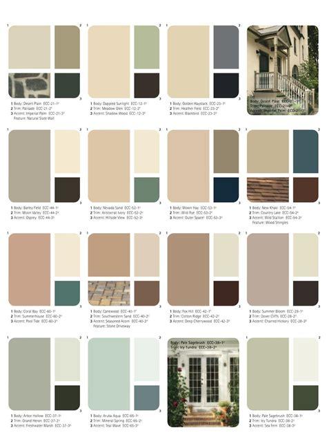 glidden exterior paint colors chart paint color ideas