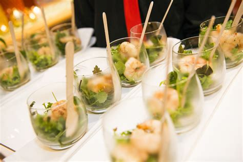 canapes with prawns catering events and functions laissez faire