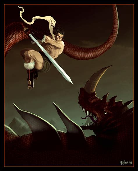 A To Slay Dragons by Slay The Digital By Michael Myers
