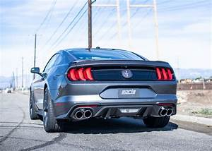 Best Exhaust - Borla Ford Mustang 2.3L EcoBoost 2019-on Cat-Back Exhaust S-Type 140827