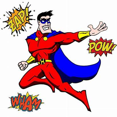 Comic Hero Clipart Superhero Heroes Guide Complete