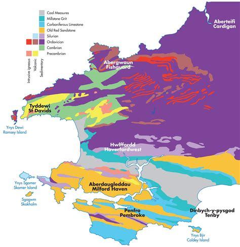 Geology Pembrokeshire Coast National Park