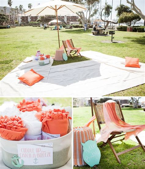 ideas  picnic baby showers  pinterest