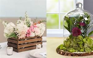 Centre De Table Champetre : 8 centres de table diy pour votre mariage shake my blog ~ Melissatoandfro.com Idées de Décoration