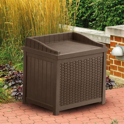 suncast resin wicker style outdoor patio deck pool 22