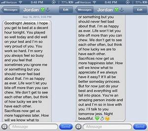 his goodnight texts are simply perfect | couples ...