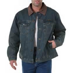 Wrangler- Blanket Lined Denim Jacket- Rustic Denim