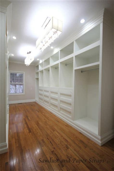 walk in closet diy turn an outdated closet into a diy custom closet
