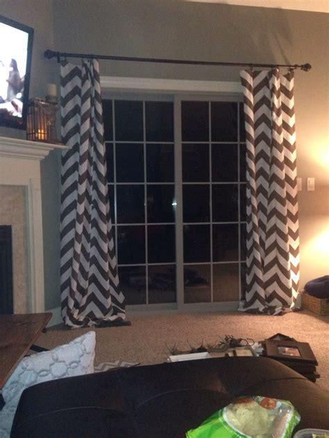 slider drapes 17 best images about slider door curtains on