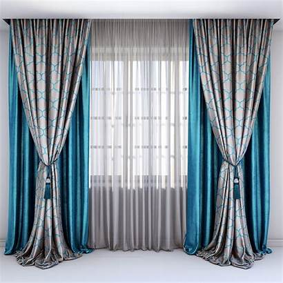 Curtains Satin Gray Curtain Velour Straight Combined