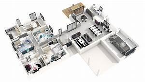 Plan 3d En Ligne : latest fascinante plan maison d maison yotta plan maison d ~ Dailycaller-alerts.com Idées de Décoration