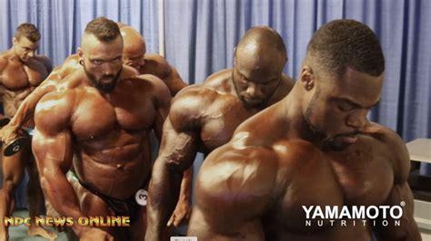 2019 Arnold Classic Men's Bodybuilding Backstage Video Pt.4 | NPC News Online