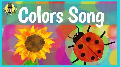 primary colors song colors song for primary colors for children the