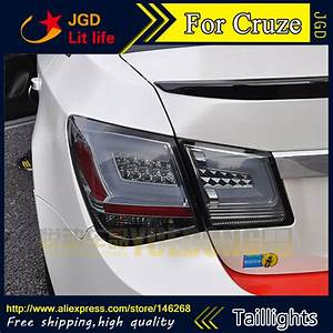 Car Styling Tail Lights For Chevrolet Cruze 2009 2014 Taillights Led Tail Lamp Rear Trunk Lamp