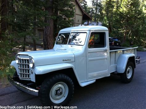 willys jeep truck green 1951 willys pickup information and photos momentcar
