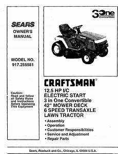 Craftsman 917 255581 Owners Manual Manualslib Makes It