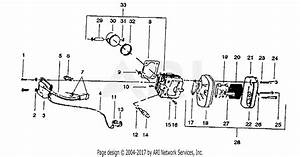 Poulan 405 Gas Chain Saw Parts Diagram For Muffler