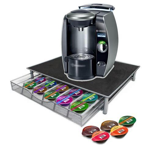 uk coffee machine stand capsule pod nespresso dolce gusto storage drawer ebay