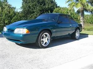 93 Mustang Coupe 5 0 Reef Blue 5speed Built 306