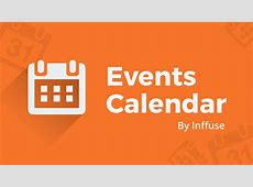 Events Calendar Display a beautiful events calendar