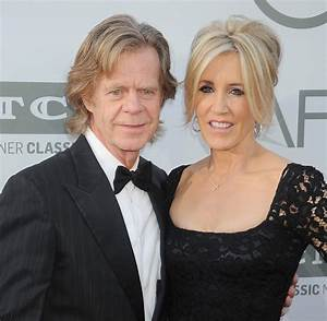 Actress Felicity Huffman and her Husband William H. Macy ...
