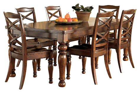 porter dining room table furniture homestore