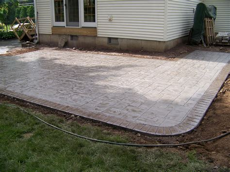 picture of patio sted concrete patio www imgkid com the image kid has it