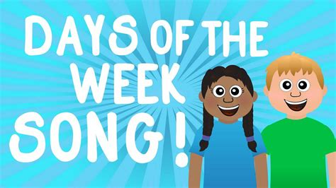 learn the 7 days of the week song for learn sunday 192 | maxresdefault