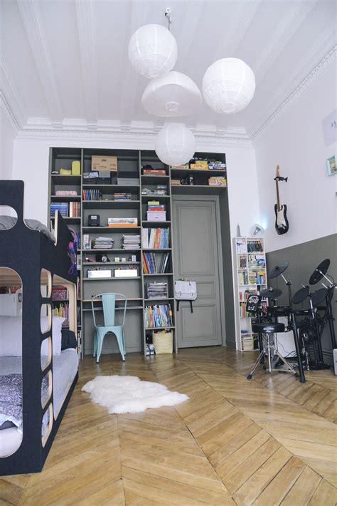 chambre kaki décoration chambre ado rock musique kaki