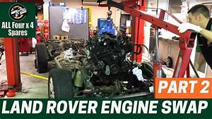 Land Rover Discovery 4 Engine Swap Replacement