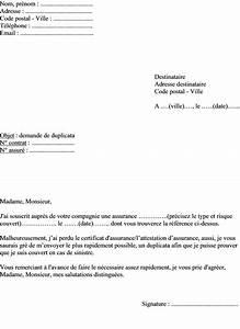 Modele Lettre Resiliation Assurance Moto Pour Vente : lettre demande attestation d assurance voiture ~ Gottalentnigeria.com Avis de Voitures