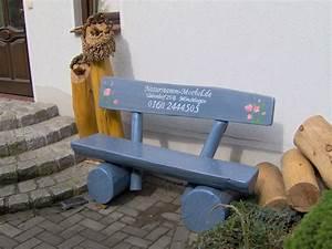 Möbel De Com : kleine rustikale gartenbank aus massivholz ~ Orissabook.com Haus und Dekorationen