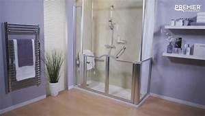 Aide Pour Amenagement Salle De Bain Personne Agée : douche pour personnes handicap es youtube ~ Melissatoandfro.com Idées de Décoration